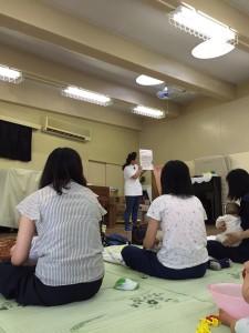 船橋若松保育園にてベビーマッサージ体験会報告